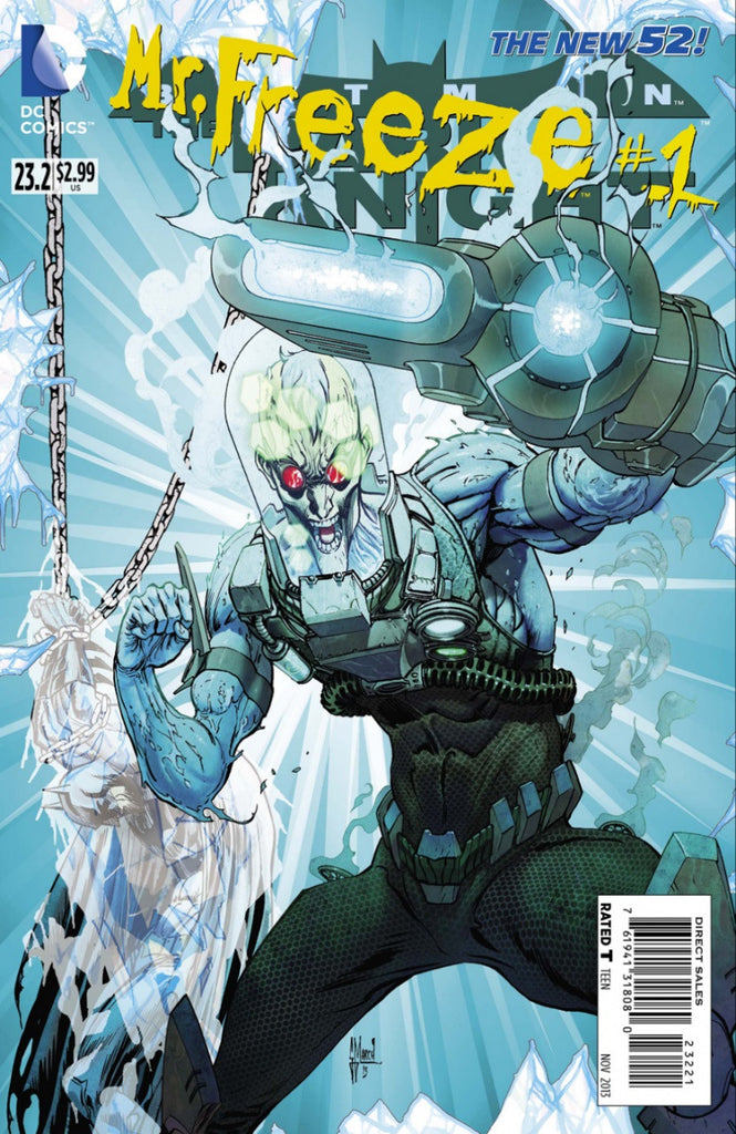 Batman: Dark Knight (2011 Series) #23.2 Mr. Freeze (Standard Cover - Guillem March)