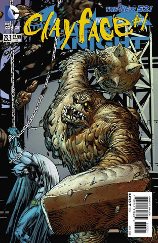 Batman: Dark Knight (2011 Series) #23.3 Clayface (Regular Cover - Guillem March)