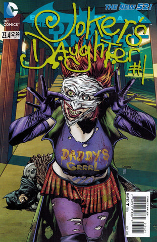 Batman: Dark Knight (2011 Series) #23.4 Joker's Daughter (Regular Cover - Jason Fabok)
