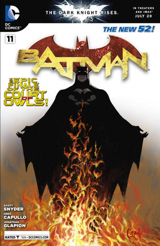 "Batman (2011 Series) #11 (Variant ""SDCC 2012"" Retailer Summit Cover - Greg Capullo)"