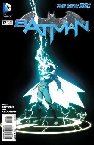 Batman (2011 Series) #12 (Regular Cover - Greg Capullo)