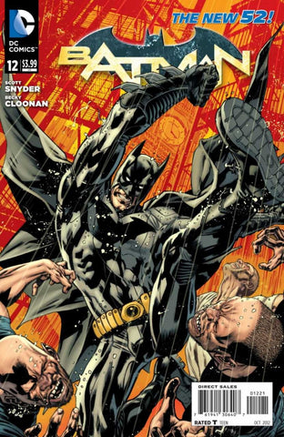 Batman (2011 Series) #12 (Variant Cover - Bryan Hitch)