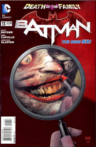 Batman (2011 Series) #13 (Variant Cover - Greg Capullo)