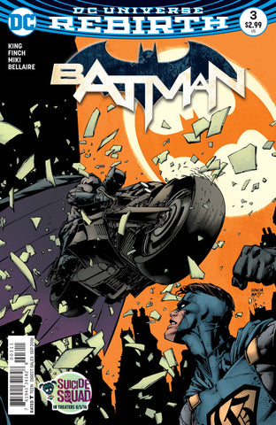 Batman (2016 Series) #3 (Regular Cover - David Finch)