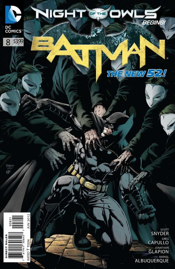 Batman (2011 Series) #8 (Variant Cover - Jason Fabok)