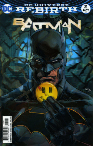 "Batman (2016 Series) #21 (Variant ""3-D"" Cover - Jason Fabok)"