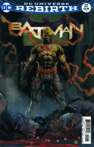 "Batman (2016 Series) #22 (Variant ""3-D"" Cover - Jason Fabok)"