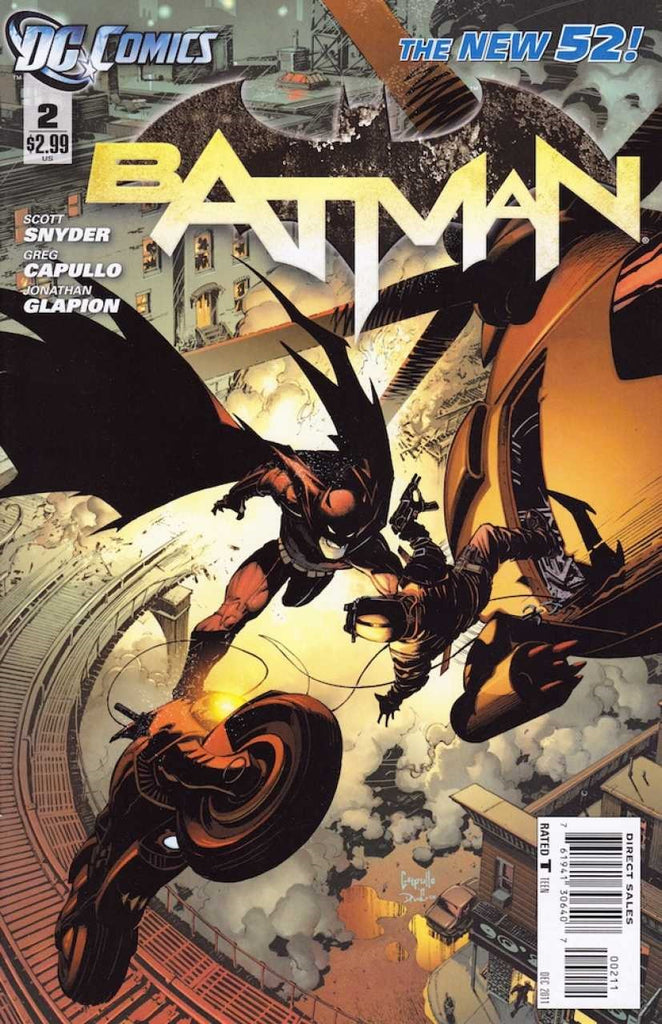Batman (2011 Series) #2 (Regular Cover - Greg Capullo)