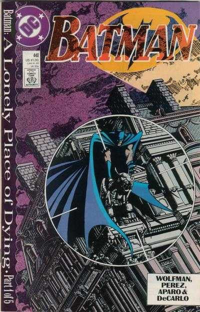 Batman (1940 series) #440 (A Multi-Title Crossover) [SET] — A Lonely Place of Dying