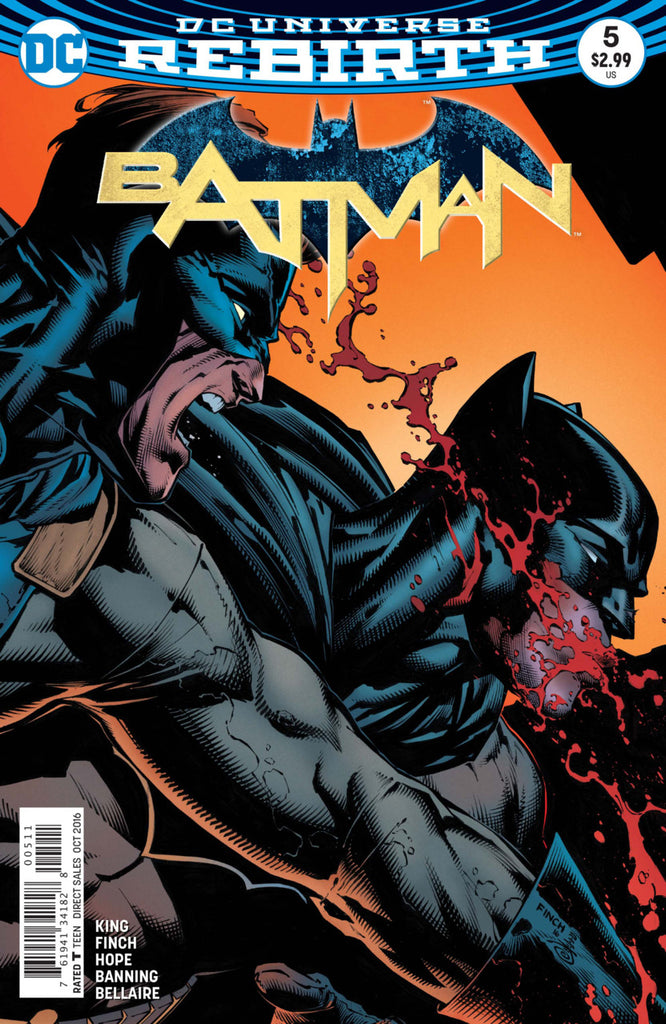 Batman (2016 Series) #5 (Regular Cover - David Finch)