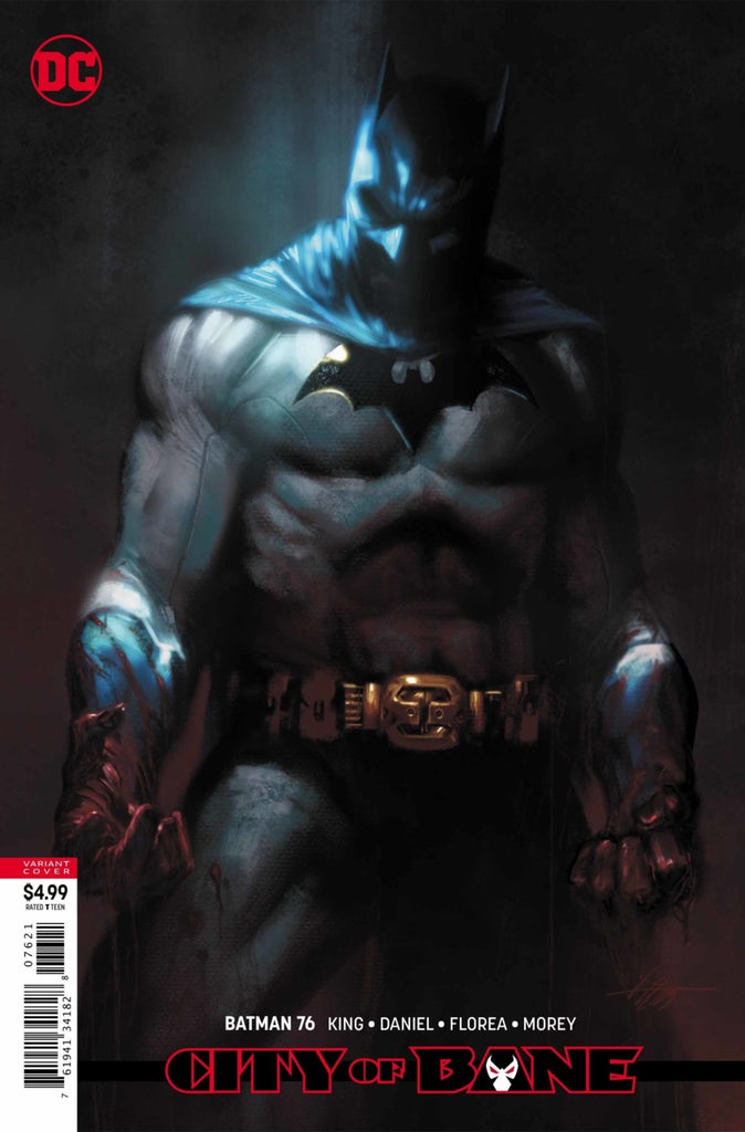 "Batman (2016 Series) #76 (Variant ""Year of the Villain"" Card Stock Cover - Gabriele Dell'Otto)"