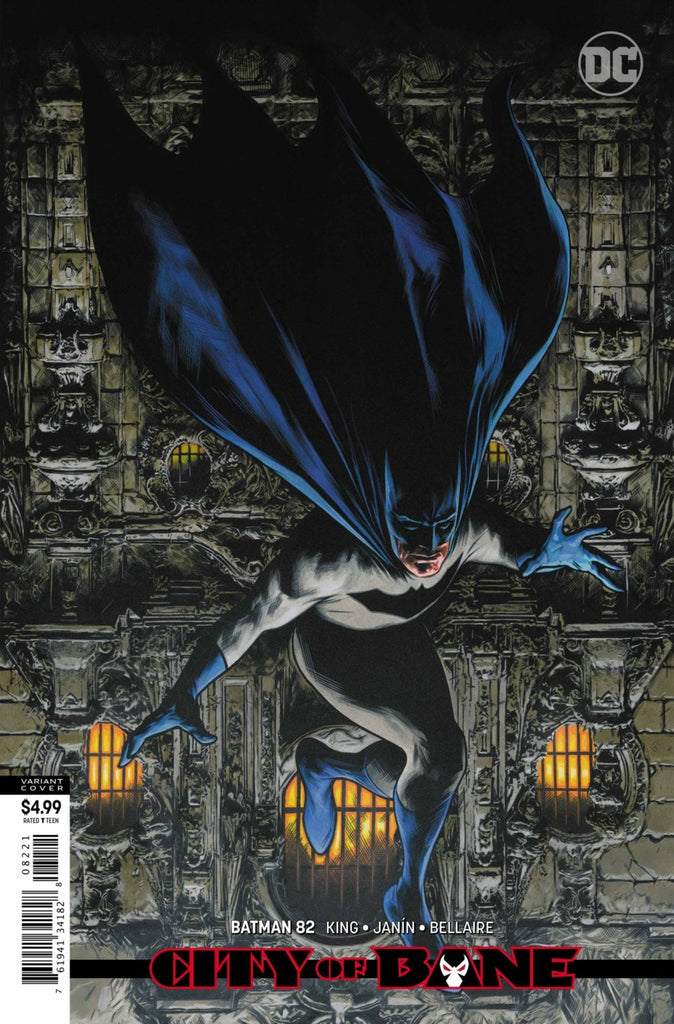 Batman (2016 Series) #82 (Variant Card Stock Cover - Travis Charest)