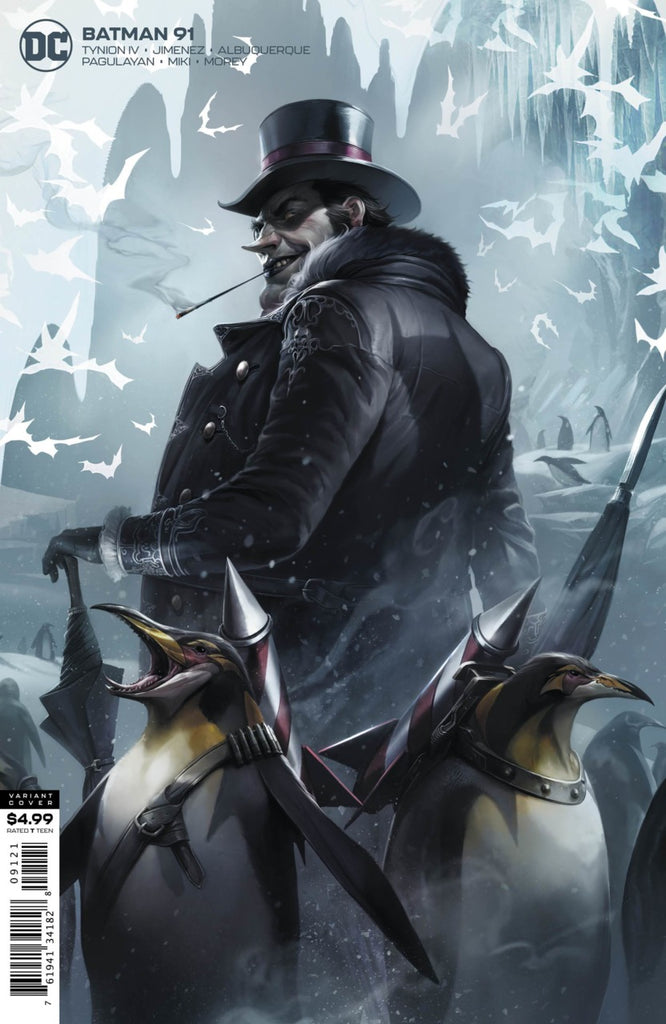 Batman (2016 Series) #91 (Variant Card Stock Cover - Francesco Mattina)