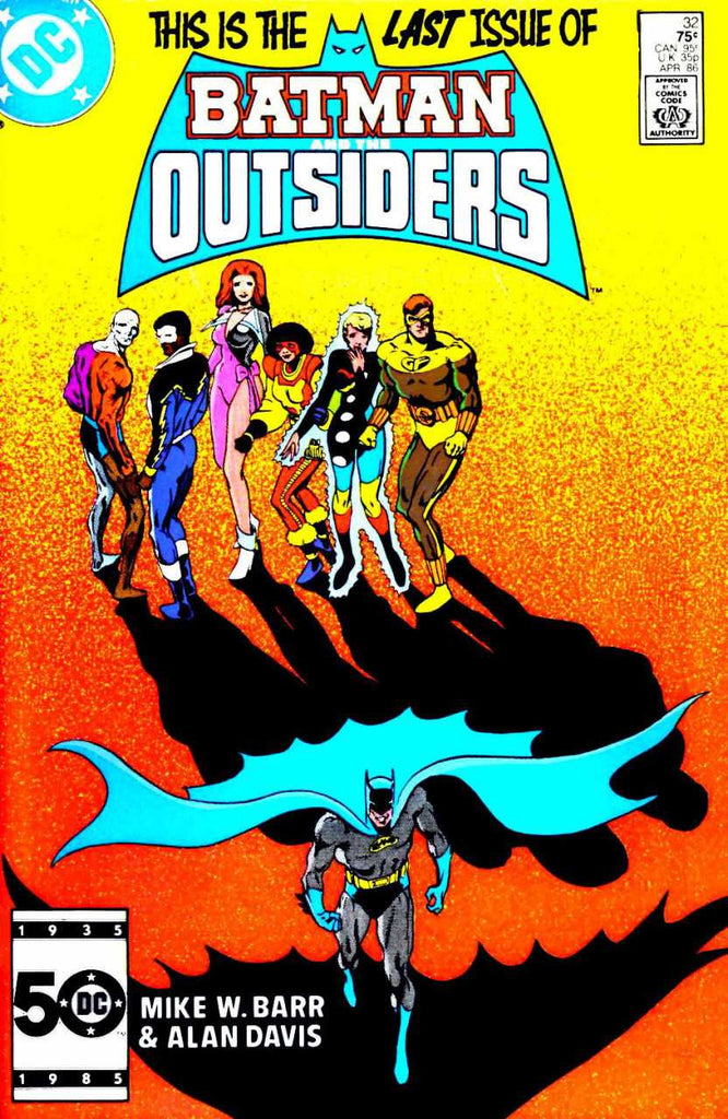 Outsiders (1986 series) #33 (A Multi-Title Crossover) [SET] — Volume 01: Who Needs Batman, Anyway?