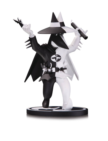 "Batman: Black and White Statue – ""Spy vs Spy"" Batman by Peter Kuper"