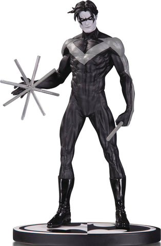 Batman: Black and White Statue – Nightwing by Jim Lee