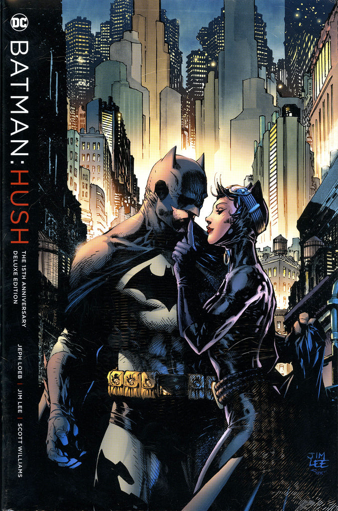 "Batman ""Hush: The 15th Anniversary Deluxe Edition"" Hardcover (2017) 1st Printing"