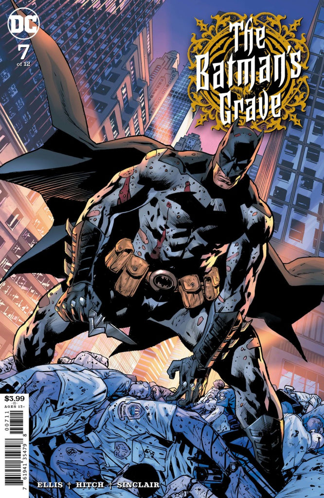 Batman's Grave (2019 mini-series) #7 (of 12) (Regular Cover - Bryan Hitch)