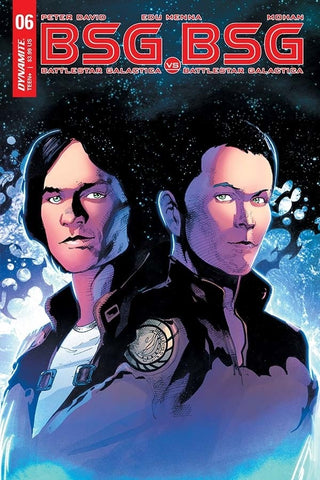 "Battlestar Galactica: BSG vs. BSG (2017 mini-series) #6 (of 6) (Variant ""D"" Apollo Split Cover - Roberto Castro)"