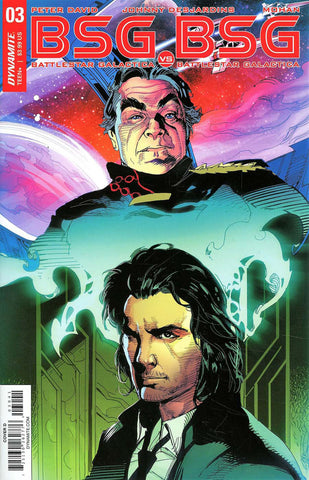 "Battlestar Galactica: BSG vs. BSG (2017 mini-series) #3 (of 6) (Variant ""D"" Baltar Split Cover - Roberto Castro)"