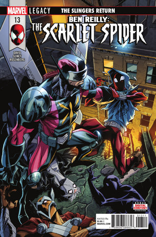 Ben Reilly; The Scarlet Spider (2016 Series) #13 (Regular Cover - Khary Randolph)
