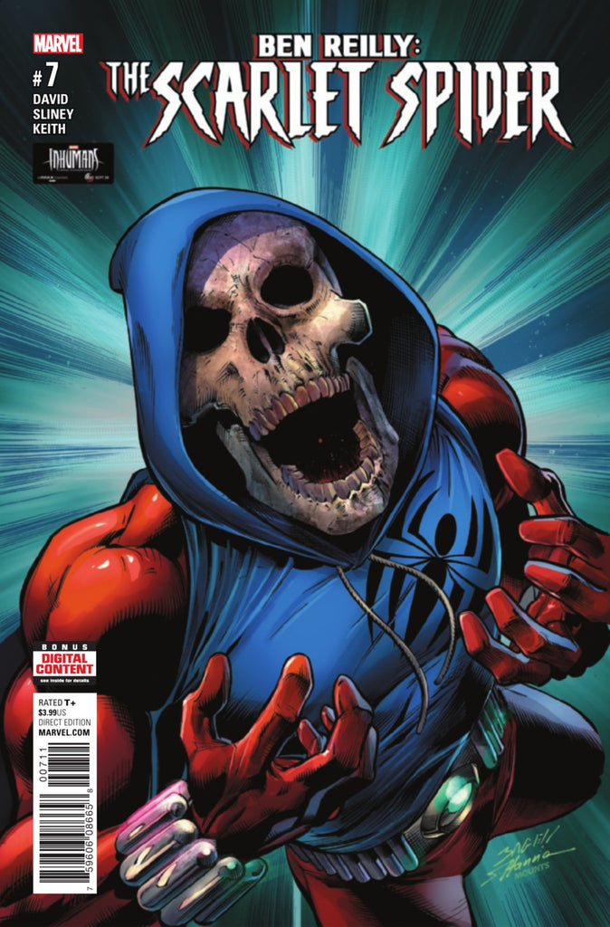 Ben Reilly; The Scarlet Spider (2016 Series) #7 (Regular Cover - Mark Bagley)