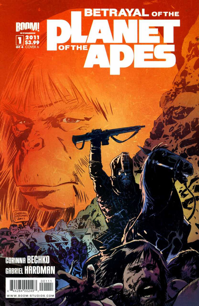 Planet of The Apes (2011 mini-series) #1-4 [SET] — Volume 00: Betrayal of the Planet of The Apes (All Regular Covers)
