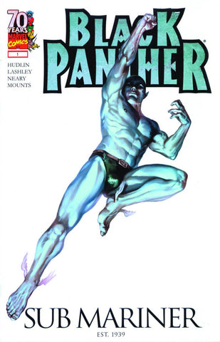 "Black Panther (2009 Series) #1 (Variant ""Sub Mariner 70th Anniversary"" Cover - Marko Djurdjevic)"
