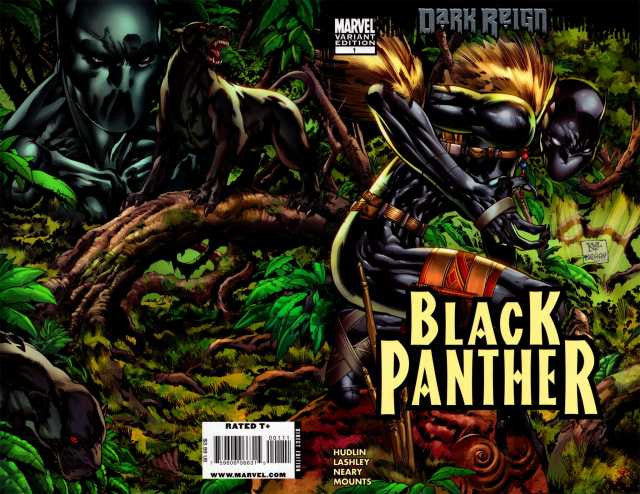 "Black Panther (2009 Series) #1 (Variant ""B"" Cover - Ken Lashley)"