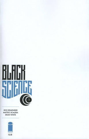 Black Science (2013 Series) #1 (Variant Cover - Blank)