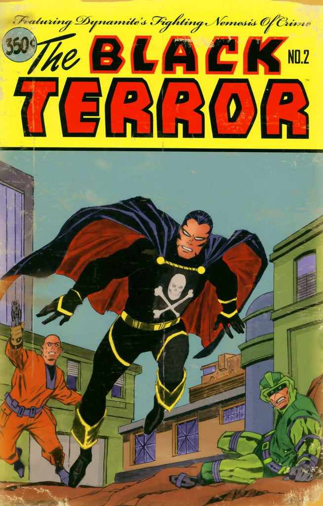 "Black Terror (2008 Mini-Series) #2 (Variant Incentive ""B"" Cover - Mike Lilly)"