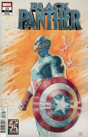"Black Panther (2018 series) #13 (Variant ""Artist"" Cover - David Mack)"