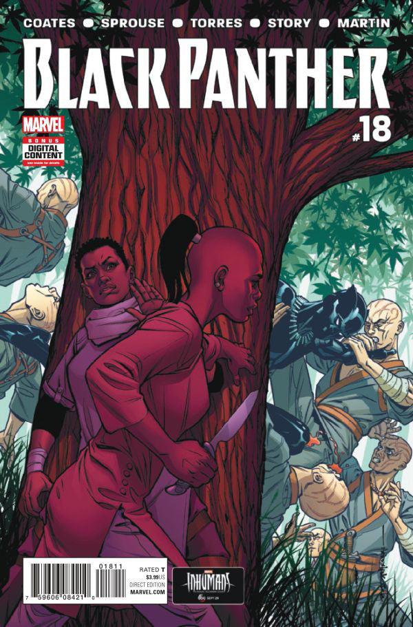 Black Panther (2016 Series) #18