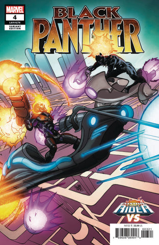 "Black Panther (2018 series) #4 (Variant ""Cosmic Ghost Rider VS."" Cover - Pasqual Ferry)"