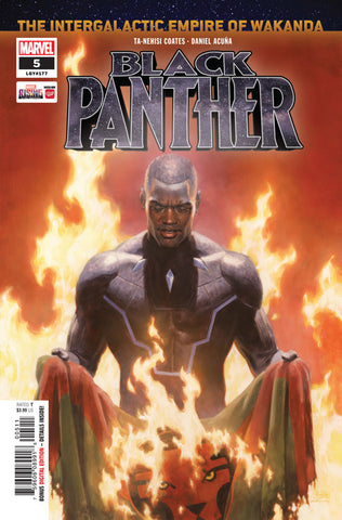 Black Panther (2018 series) #5 (Regular Cover - Paolo Rivera)