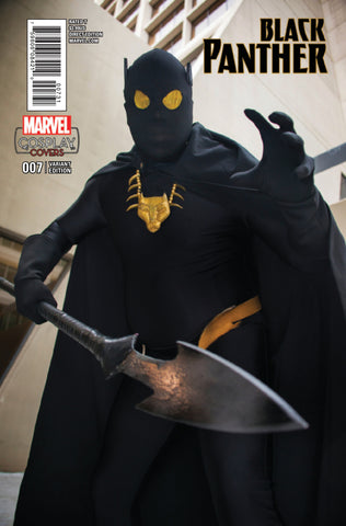 "Black Panther (2016 Series) #7 (Variant Incentive ""Cosplay"" Cover - Photo)"