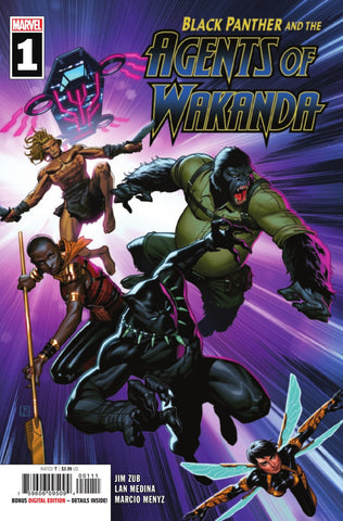 Black Panther and the Agents of Wakanda (2019 series) #1 (Regular Cover - Jorge Molina)