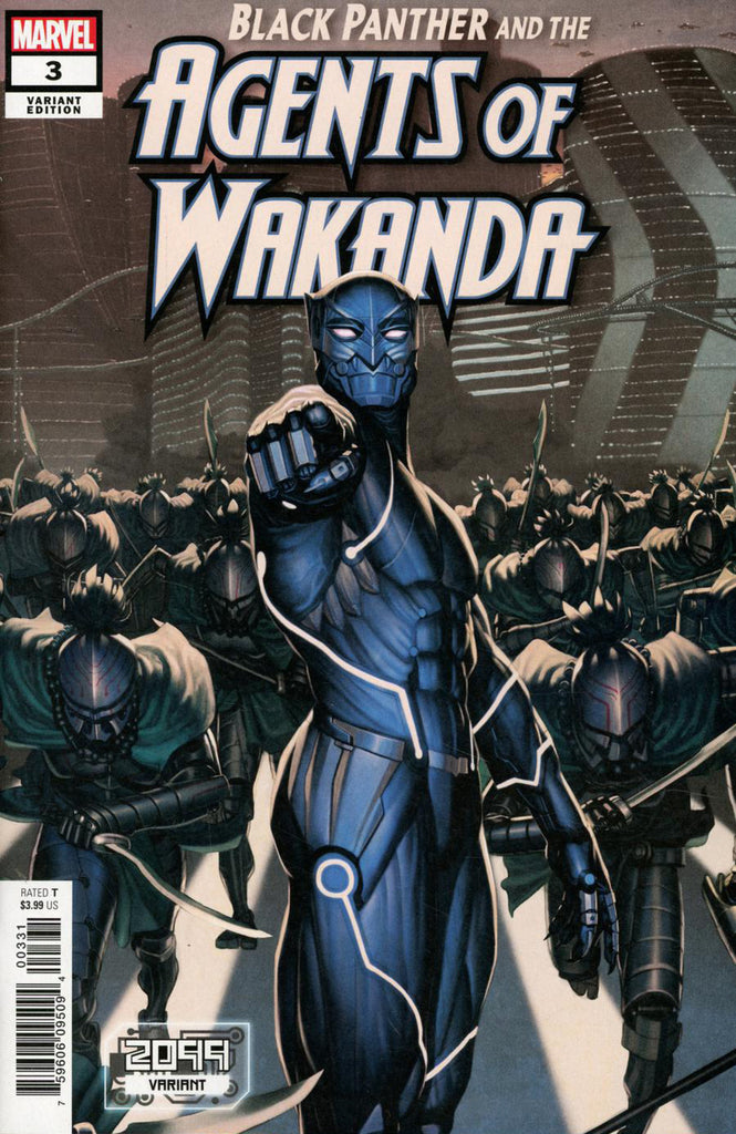 "Black Panther and the Agents of Wakanda (2019 series) #3 (Variant ""2099"" Cover - Rock-He Kim)"