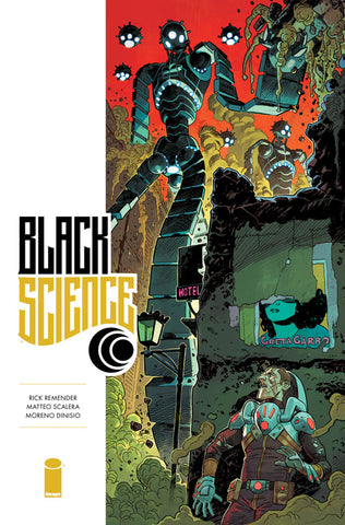 "Black Science (2013 Series) #32 (Variant ""B"" Cover - Mike Hawthorne)"