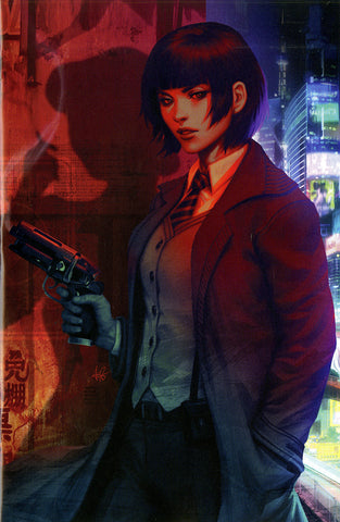 "Blade Runner 2019 (2019 series) #1 (Variant SDCC 2019 ""Virgin Art"" Cover - ARTGERM)"