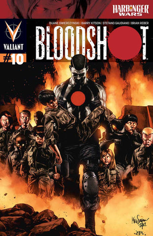 "Bloodshot (2012 Series) #10 (Regular ""A"" Cover - Mico Suayan)"