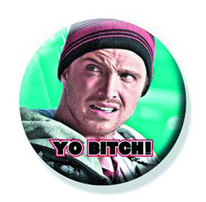 "Tin Button – Breaking Bad (TV) – Pinkman ""Yo Bitch!"""