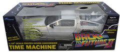"Back to the Future II (Film) – DeLorean Time Machine Light-Up 1:15-Scale Vehicle (Exclusive ""Hover"" Version)"