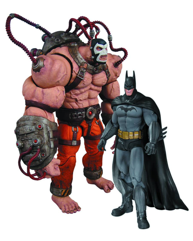 "Batman: Arkham City Box Set  – Batman vs. Bane 6"" Scale Figures"