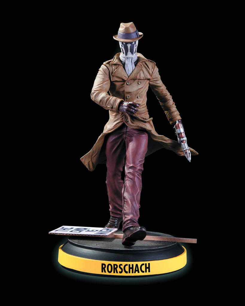 Before Watchmen – Rorschach Full-Size Statue