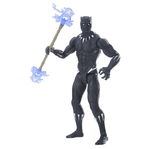 "Black Panther (Film) – Series 1 – Black Panther (Movie Version) 6"" Figure with Vibranium Gear"