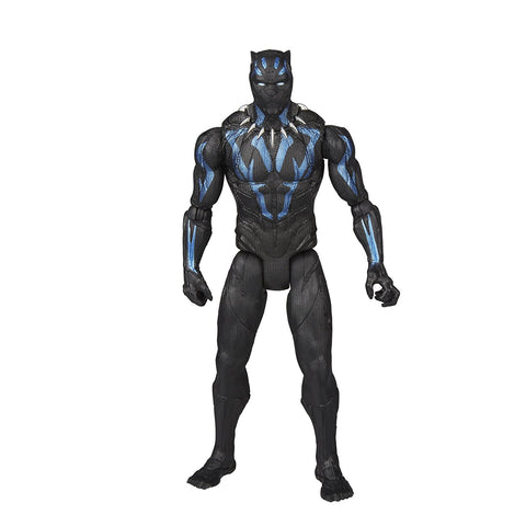 "Black Panther (Film) – Series 1 – Vibranium Black Panther (Movie Version) 6"" Figure with Vibranium Gear"