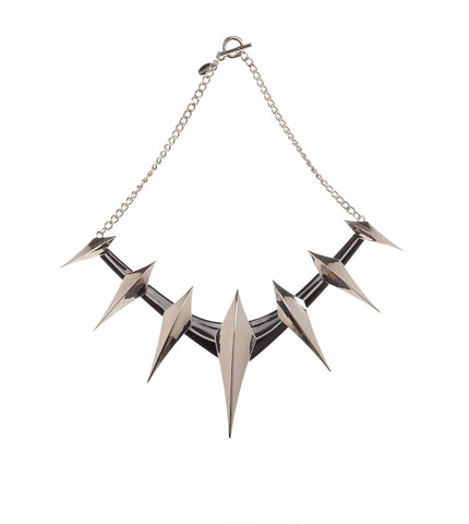 Black Panther (Film) – Black Panther Spike Collar Prop Replica