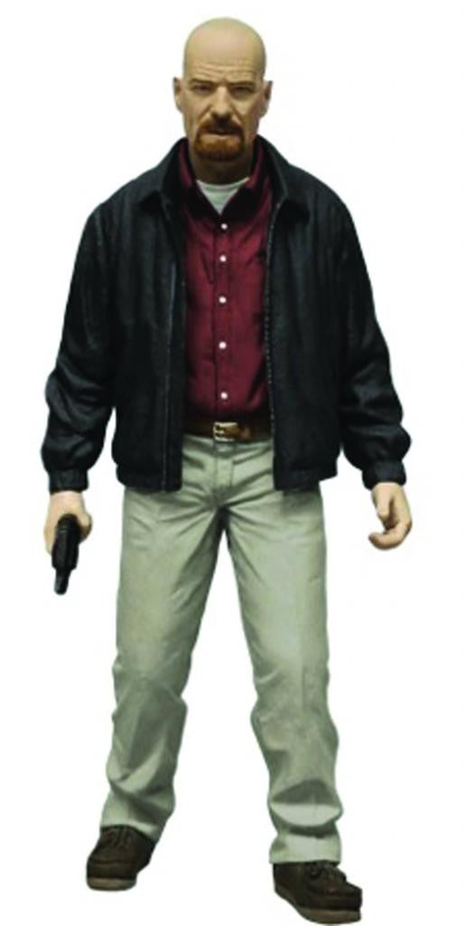 "Breaking Bad – Walter White as Heisenberg (Variant ""Red Shirt"" Version) 6"" Figure"