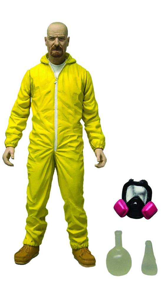 "Breaking Bad – Walter White in Yellow Hazmat Suit 6"" Figure"